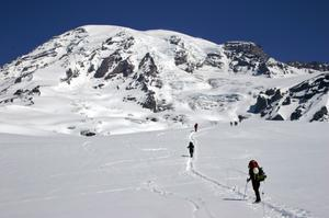 Summit Mount Rainier, Washington