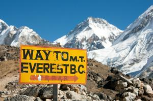 Trek to Everest South Base Camp, Nepal