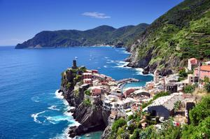 Hike or Drive the Ligurian Coast between Cinque Terre and Portovenere, Italy (UNESCO site)