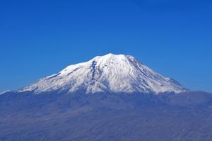 Summit Mount Ararat, Turkey