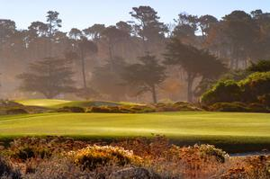 Golf Pebble Beach Golf Links, California