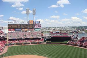Attend a Reds Game at Great American Ball Park, Cincinnati