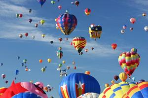 Attend the Albuquerque International Balloon Fiesta, New Mexico