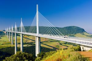 See Bridge at Millau Viaduct, France