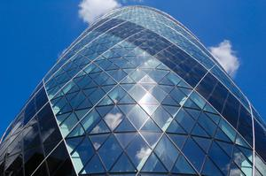 See 30 St Mary Axe (The Gherkin), London, England