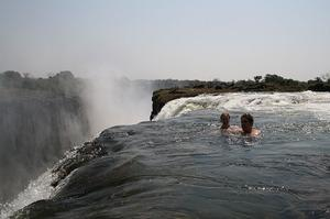 Take a Dip in Devil's Pool, Victoria Falls, Zambia
