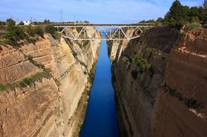 Bungee Jump from Corinth Canal Bridge, Greece