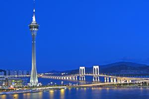 Bungee Jump from Macau Tower, Macau