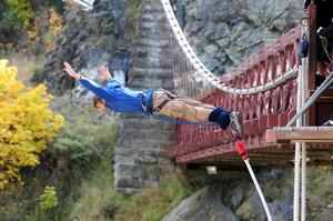 Bungee Jump from Kawarau Bridge, New Zealand