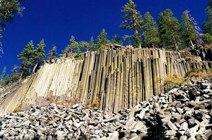 Visit Devils Postpile National Monument, California