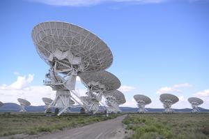 Visit Very Large Array (VLA), New Mexico