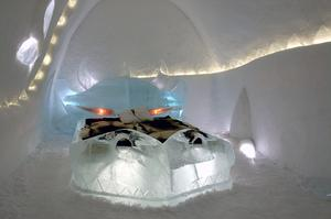 Stay at an Ice Hotel