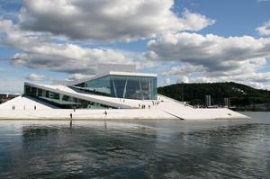 See the Oslo Opera House, Norway