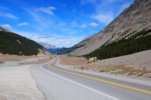 Drive or Cycle the Icefields Parkway (Columbia Icefield), Canada