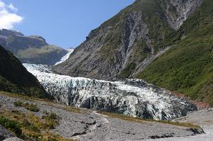 Walk on Fox Glacier, New Zealand
