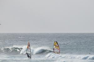 Windsurfing or Kitesurfing at Ho'okipa on Maui, Hawaii