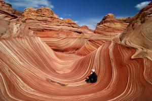 "Hike to ""The Wave"" at Coyote Buttes, Utah & Arizona"