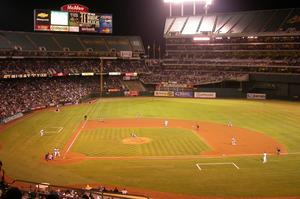 Attend an Athletics Game at O.co Coliseum, Oakland