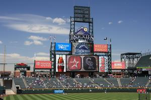 Attend a Rockies Game at Coors Field, Denver