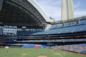 Attend a Blue Jays Game at Rogers Centre, Toronto