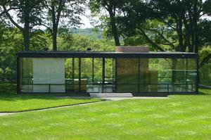 See The Glass House, New Canaan, Connecticut