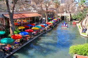 Stroll along San Antonio's River Walk
