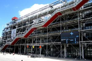 Visit Pompidou Centre, Paris, France