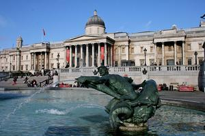 Visit National Gallery, London, England