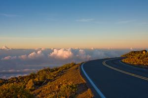 Ride a Bike down Haleakal Volcano, Maui, Hawaii
