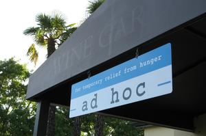 Dine at Ad Hoc, Yountville, California