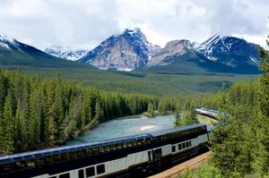 Ride the Rocky Mountaineer from Vancouver to Alberta, Canada