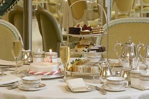 Have Tea in the Palm Court at the Ritz, London, England