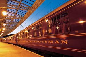 Ride the Royal Scotsman, Scotland
