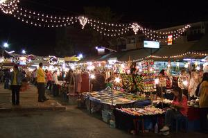 Shop at Chiang Mai Night Bazaar, Thailand
