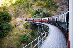 Ride the Kuranda Scenic Railway, Queensland, Australia