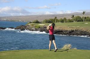 Golf Mauna Kea Golf Course, Big Island, Hawaii
