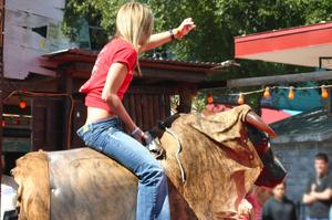Ride a Mechanical Bull