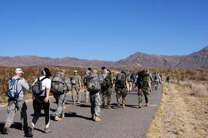 Finish the Bataan Memorial Death March