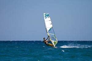 Windsurfing or Kitesurfing Blacks Beach Lagoon, Queensland, Australia