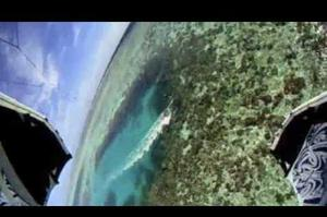 Windsurfing or Kitesurfing Pohnpei and Kosrae Islands, Micronesia