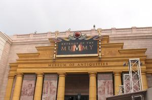 Ride The Revenge of the Mummy, Universal Studios, Florida