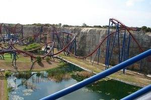 Ride Superman: Krypton Coaster (Six Flags Fiesta Texas)