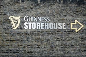 Drink Beer at Guinness Storehouse, Dublin, Ireland