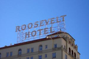 Stay at Hollywood Roosevelt Hotel, Los Angeles, California		