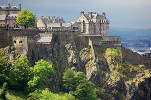 Visit Edinburgh Castle, Scotland			