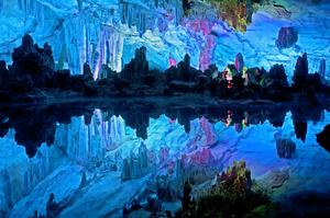 Explore Reed Flute Cave, Guilin, China