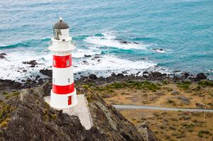 See Cape Palliser Lighthouse, New Zealand