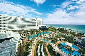 Stay at Fontainebleau Miami Beach, Florida