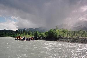 Raft the Tatshenshini River, Yukon, Canada