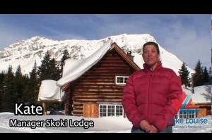 Cross-Country Ski or Hike into Skoki Lodge, Banff National Park